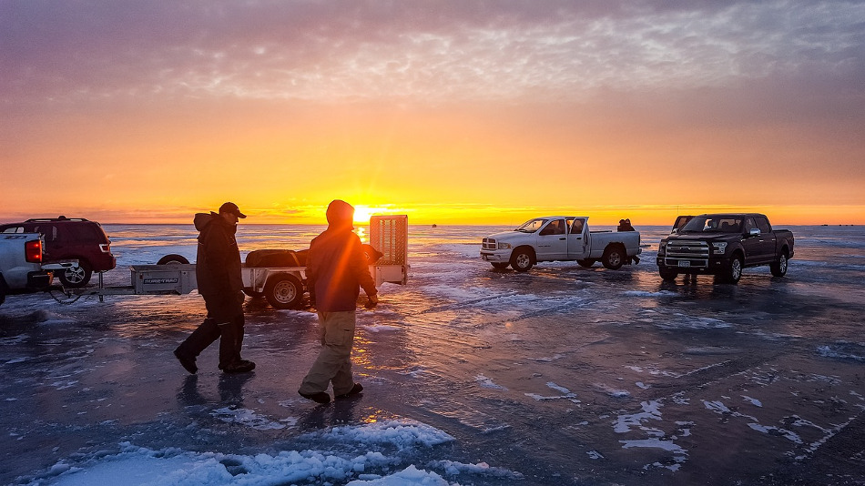 fishfinder ice fishing